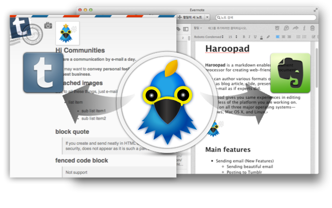 Haroopad - The Next Document processor based on Markdown